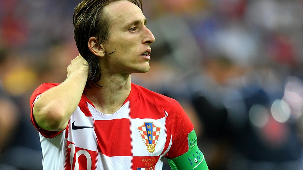 Luka Modric no ha hablado todavía su futuro.