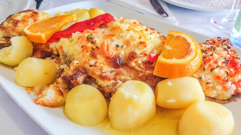 Receta de bacalao al horno con mayonesa