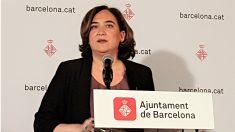 Ada Colau, alcaldesa de Barcelona. (EP)