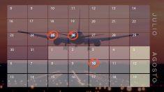 Calendario huelga Ryanair