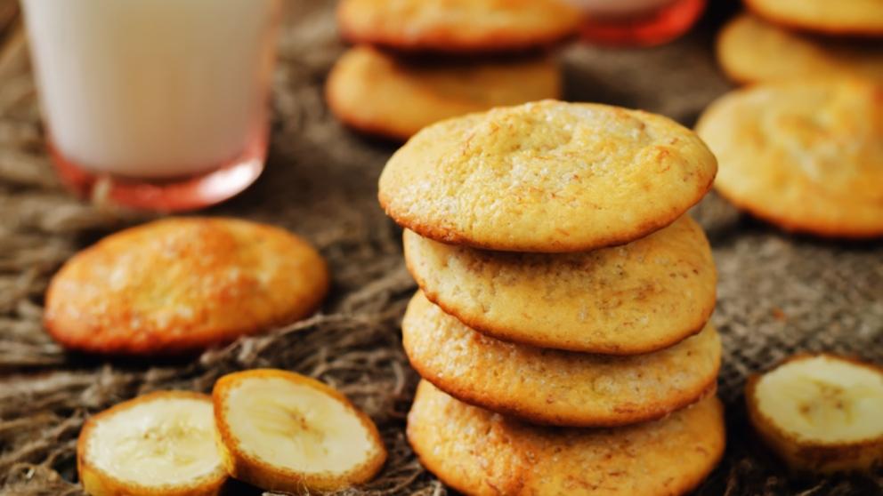 Receta de galletas de plátano, un placer dulce y saludable