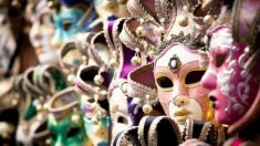 Descubre cuál es la historia de las mascaras venecianas