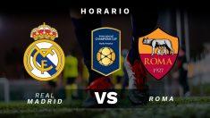 El Real Madrid y la Roma se enfrentan en la International Champions Cup.