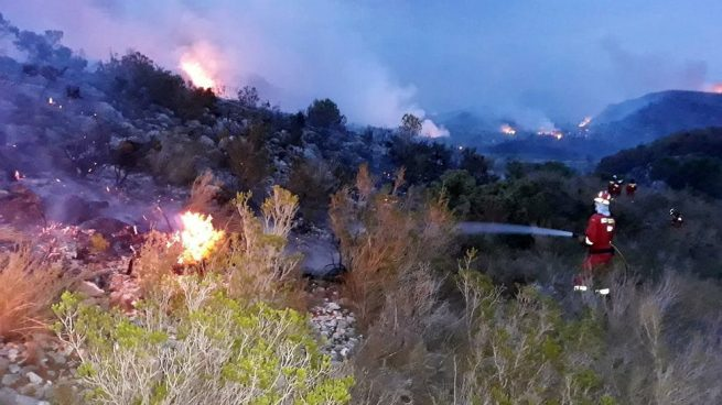 incendio Llutxent