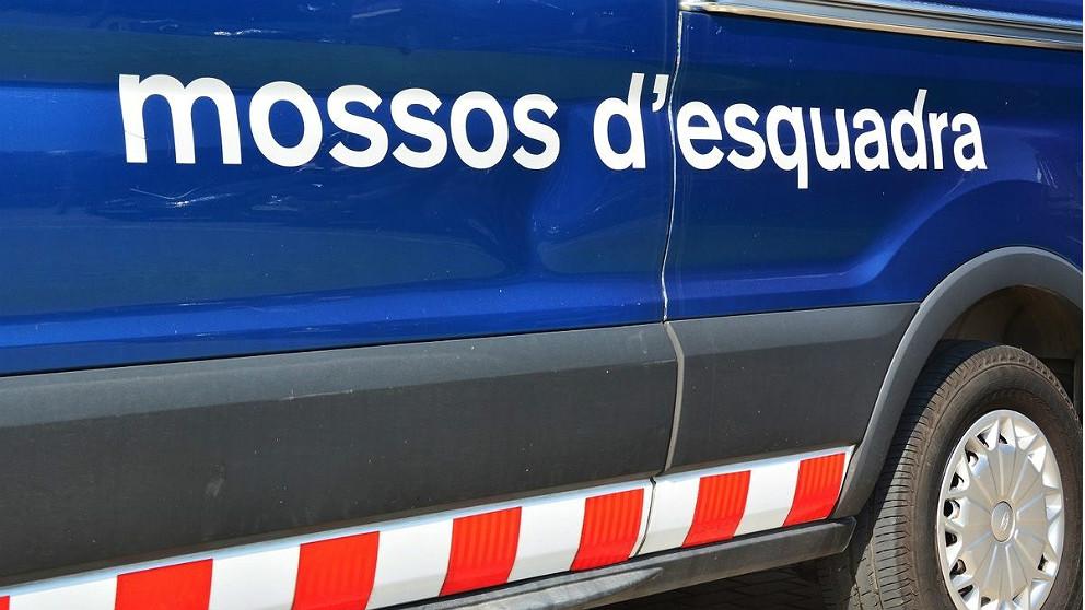 Un vehículo de intervención de los Mossos d'Esquadra. (EP)