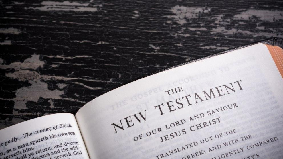 El Nuevo Testamento es la segunda parte de la Biblia católica.