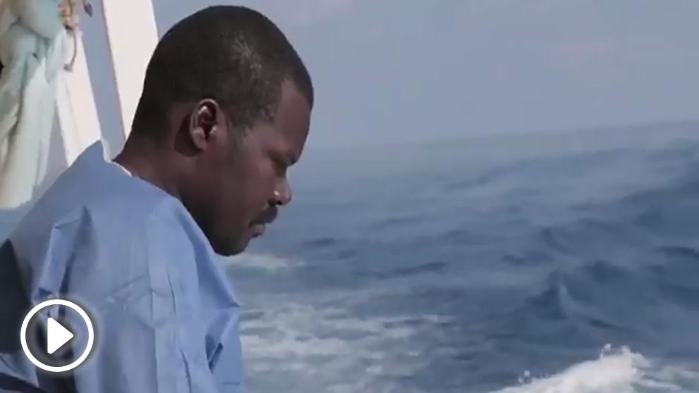 Vídeo de la ONG Open Arms que busca un puerto español para desembarcar inmigrantes.