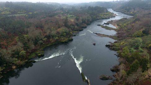 Río Miño, frontera natural entre España y Portugal. (EP)