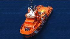 Una embarcación de Salvamento Marítimo (EP)