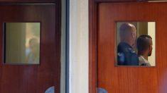 El integrante de 'La Manada', Ángel Boza, dentro del juzgado. Foto: Europa Press