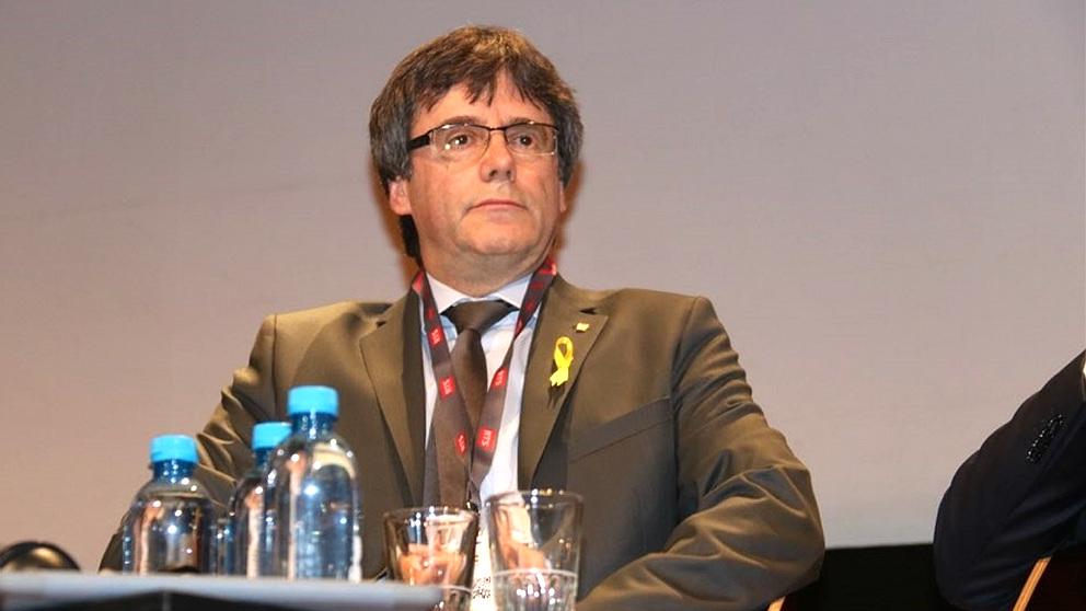 El ex president de la Generalitat Carles Puigdemont, huido en Bélgica. (EP)