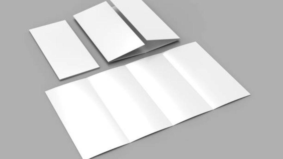 Guía de pasos para doblar una carta para meterla en un sobre