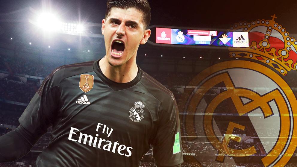 Thiabut Courtois, nuevo jugador del Real Madrid.