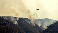 El incendio forestal de Llutxent (Valencia) ha arrasado ya más de mil hectáreas. (Foto: EFE)