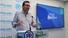Manuel Andrés González, presidente del PP de Huelva y portavoz en el Parlamento andaluz. (EP)