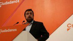 Miguel Gutiérrez, dirigente de Ciudadanos. (EP)