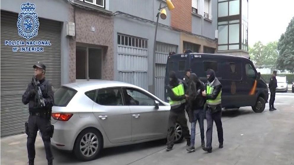 Operación yihadista en Vitoria de la Policía Nacional.