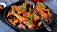 Receta de pollo con salsa de regaliz, una combinación original