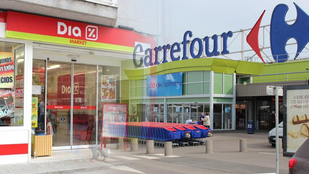 DIA y Carrefour