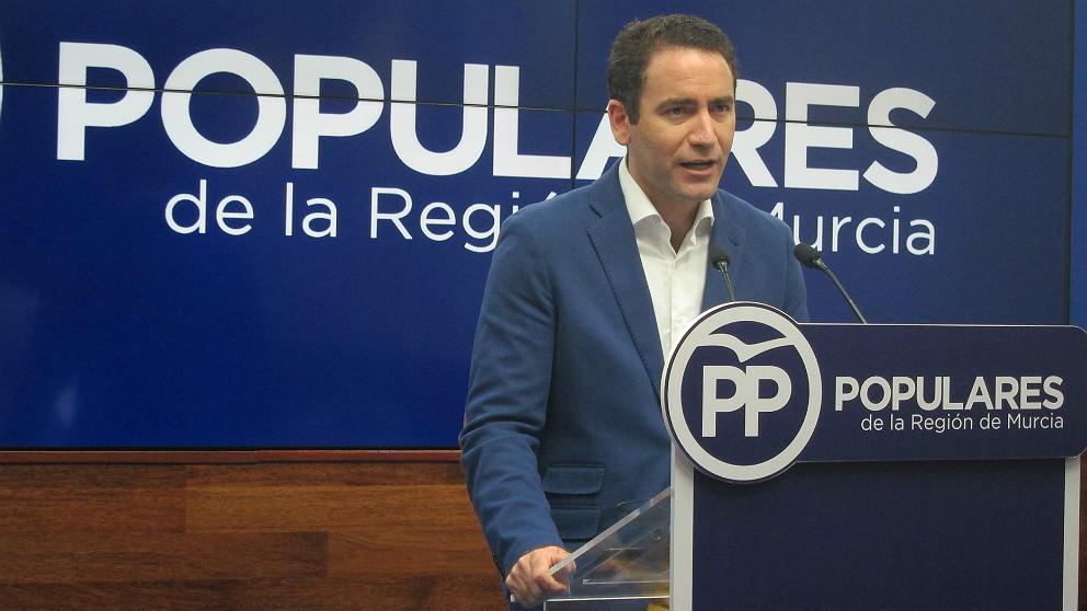 Teodoro García Egea, secretario general del PP. (EP)