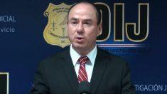 Walter Espinoza, director general del Organismo de Investigación Judicial de Costa Rica. (EP)