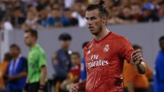 Gareth Bale, durante el Real Madrid – Roma de la International Champions Cup 2018. (Getty)