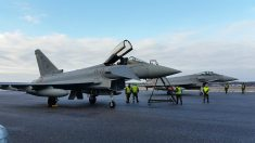 Aviones Eurofighter de la Fuerza Aérea Española. (EP)