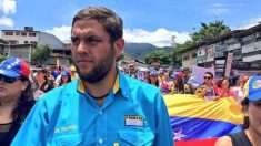 El líder estudiantil venezolan Juan Requesens, detenido por el régimen de Nicolás Maduro.