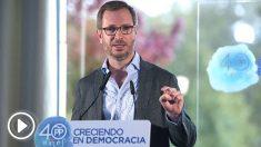 El vicesecretario de Política Social y Sectorial del PP, Javier Maroto. (Foto: EFE)