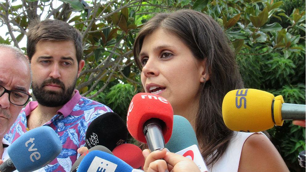 Marta Vilalta, portavoz de ERC. (EP)