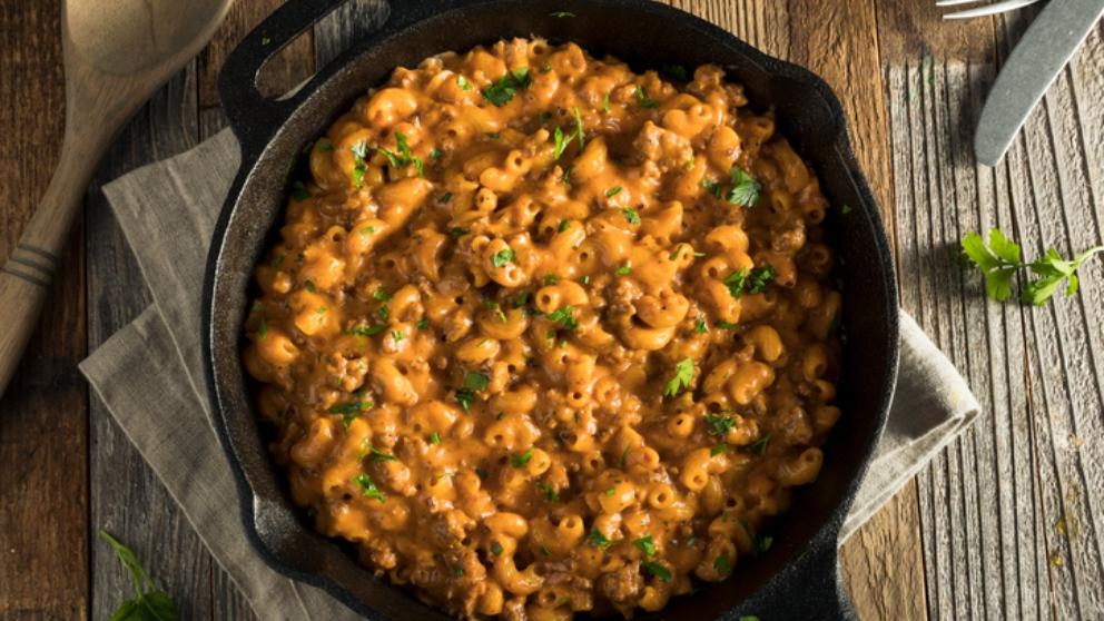 Receta de pasta con salsa de mostaza, un plato original y delicioso