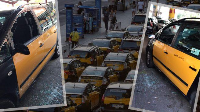 Las primeras pesquisas policiales indican que los taxistas de Barcelona se «autoagredieron»
