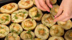 Receta de patatas con cebolla al horno