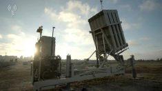 Una instalación antimisiles del sistema llamado Cúpula de Hierro de Israel. (IDF)