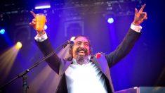 Diego El Cigala este jueves en el Festival Sonorama de Aranda de Duero (Foto: EFE).