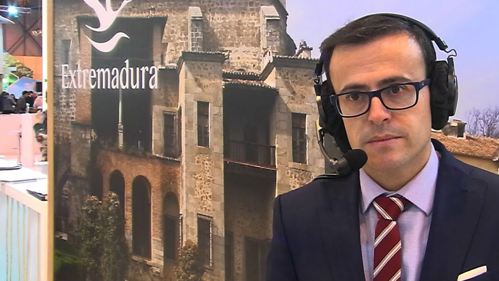 El presidente de la Diputación de Badajoz, Miguel Ángel Gallardo.