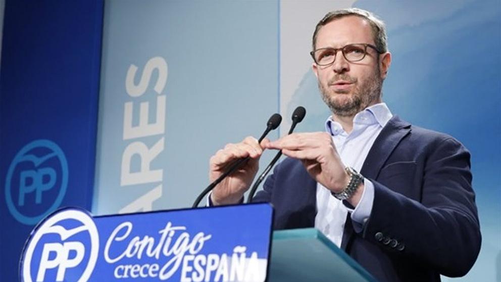Javier Maroto, vicesecretario de Organización del PP. (EP)