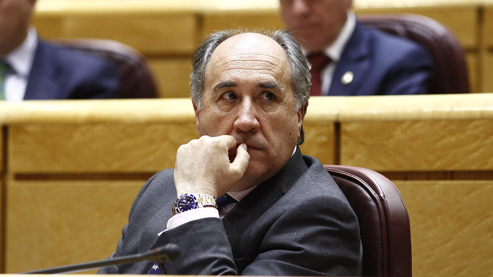 José Ignacio Landaluce, alcalde de Algeciras. (EP)