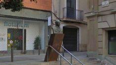 El busto del Narcís Oller en la plaza del barrio barcelonés de Gràcia. Foto: Metropoli Abierta