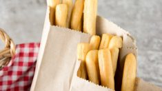 Receta de colines o picos de pan
