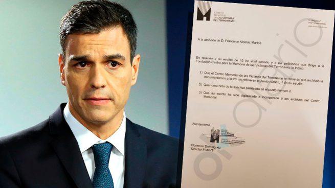 """La evasiva del Gobierno a las víctimas que piden las actas de negociación con ETA: """"Tomamos nota"""""""
