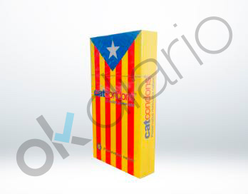 Una empresa catalana lanza los preservativos independentistas: Catcondons, 'els nostres condons'