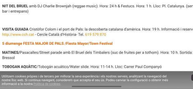 Un municipio de Gerona incluye en su programa de fiestas el «descubrimiento 'catalán' de América»