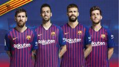 Los nuevos capitanes del Barcelona. (FC Barcelona)