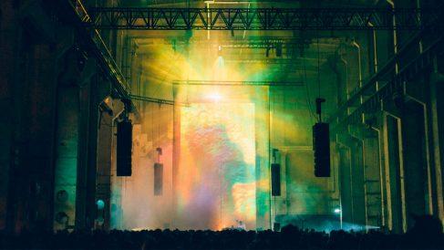 Kraftwerk Berlin, una fábrica abandonada de la capital alemana, acoge desde 2013 el festival Berlin Atonal. Foto: Patricia Nieto Madroñero