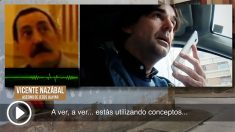 Cake Minuesa habla por teléfono con Vicente Nazábal, miembro de ETA y asesino de Jesús Ulayar, alcalde de Etxarri-Aranaz.