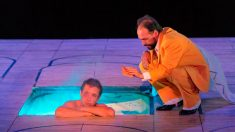 Un momento de la obra 'Calígula' en el Festival Internacional de Teatro Clásico de Mérida. Foto: EFE