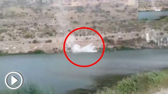 Investigan la muerte de la mujer que cayó al pantano de Alarcón