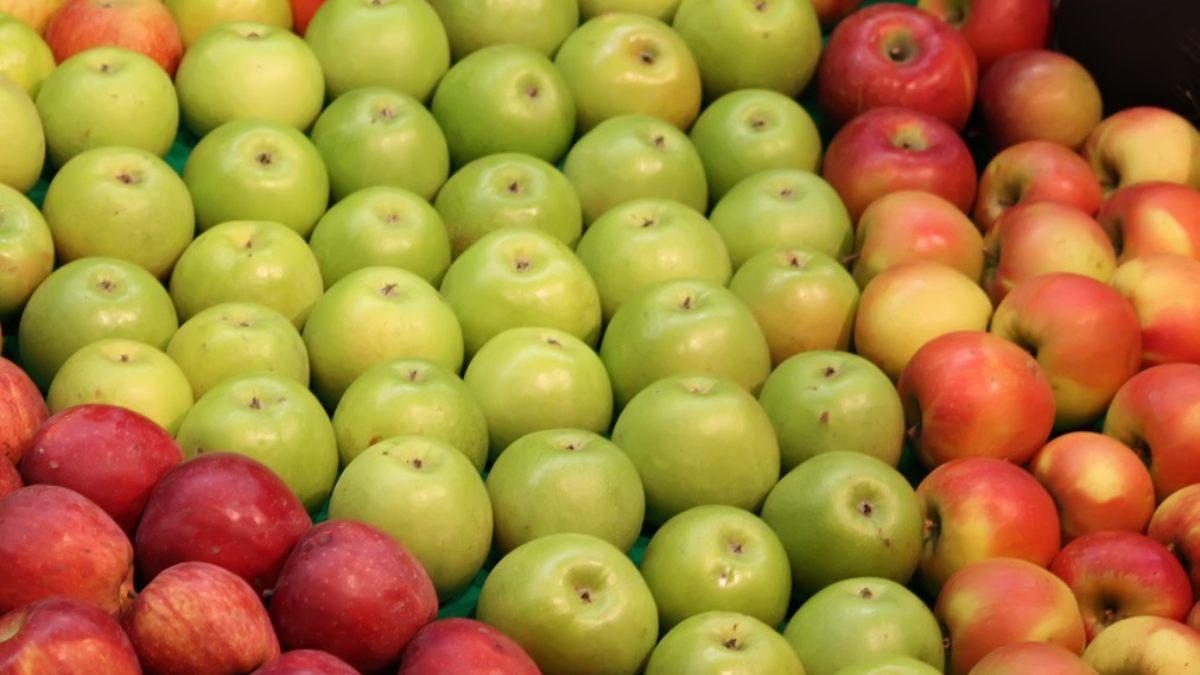 Existen muchas variedades de manzanas