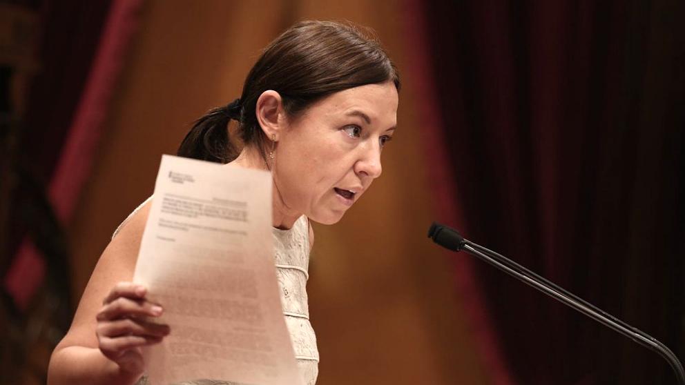 Marina Bravo, diputada de Ciudadanos en el Parlament de Cataluña.